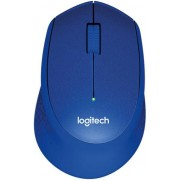 Mouse Logitech Optic Wireless M330 Silent Plus (Albastru)