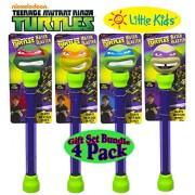 Little Kids Teenage Mutant Ninja Turtle Water Blasters Raphael, Michelangelo, Leonardo & Donatello G