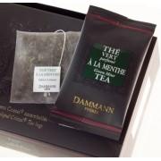 Ceai Dammann Vert a la Menthe Touareg (24 pliculete)