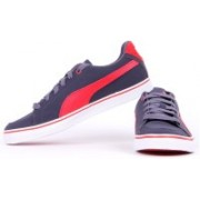 Puma Court Point Vulc Buck Casual Shoes For Men(Grey)