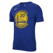Tee-shirt NBA Stephen Curry Golden State Warriors Nike Dri-FIT pour Homme - Bleu