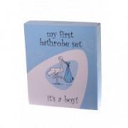 Bathrobe Set Baby giftbox badjas jongen
