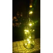 SENZA wijnkurk met LED verlichting   tover uw lege wijnfles om tot een decoratief woonaccessoire !   2 STUKS