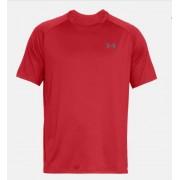 UNDER ARMOUR - tričko KR TECH SS red Velikost: XXL