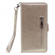 Shop4 - iPhone 11 Pro Max Hoesje - Wallet Case Vintage Goud