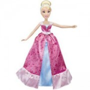 Дисни принцеси - кукла Пепеляшка с двойна рокля, Disney, 0340406