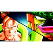 android vs cell sticker poster|dragon ball z poster|anime poster|size:12x18 inch|multicolor