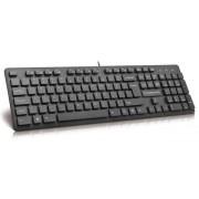 Tastatura Modecom MC-5006, USB, 104 Taste (Negru)