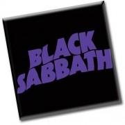 magnet Black Sabbath - Wavy Logo - ROCK OFF - BSMAG01