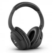 Auna ANC-10 Casque Noise Cancelling Réducteur de bruit Hardcase Adaptateur -noir