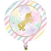 Creative Unicorn Sparkle, globos de papel de aluminio, suministros para fiestas, multicolor
