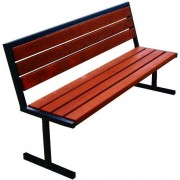 Producent: Elior Nowoczesna ławka parkowa Kalipso 2X 180 cm - 84 kolory