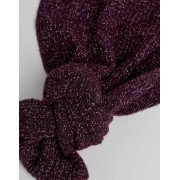 Ted Baker Tescarf Scarf in Ribbed - Purple