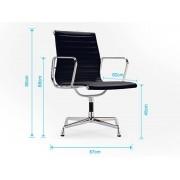 Famous Design Chaise visiteur EA108 - Noir