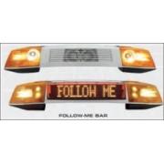 Rampa luminoasa LED model Follow Me pentru aeroporturi