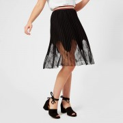 Guess Women's Polly Skirt - Jet Black - L - Black