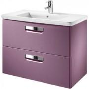 Set mobilier de baie cu lavoar, Roca The Gap 100x44xH65 cm, strugure -A855999385