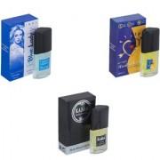 Skyedventures Set of 3 Blue Lady-ILU-Kabra Black Perfume