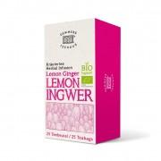 Demmers Lemon Ginger Bio Quick-T ceai aromat cutie 25 plicuri