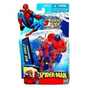 SpiderMan 2010 Series Two 3 3/4 Inch Action Figure Web Shield SpiderMan