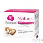 Dermacol - Natural Mandlový Noční Krém (50ml) - Éjszakai Krém