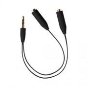 Audio Y spliter 3.5mm - 2x 3.5mm kabl 0.2m Ready2Music R2MSPL