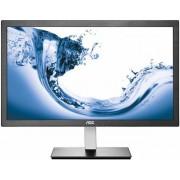 "Monitor TN LED AOC 23.6"" E2476VWM6, Full HD (1920 x 1080), HDMI, VGA, 1ms GTG (Negru)"
