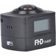 Amkov AMK100S 360 Degree 8MP 1440P WiFi Action Camera, A