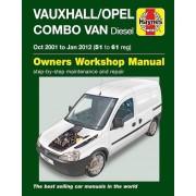 Haynes Workshop manual Opel Combo / Opel Du diesel (octobre 2001 à janvier 2012) 6362