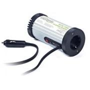 Inverter Gembird 150VA, EnerGenie, DC-AC 12V Car power inverter 150W, srebrna, 12mj, (EG-PWC-031)