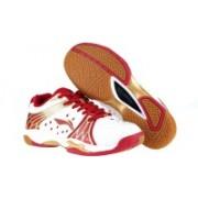 Li-Ning Plus Badminton Shoes For Men(White, Red)