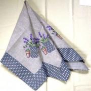 MAYA, margaréta mintás díszterítő, asztalközép