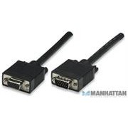 Manhattan SVGA Extension Cable HD15M