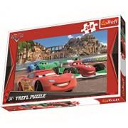 Puzzle McQueen in Porto Corso, 260 piese