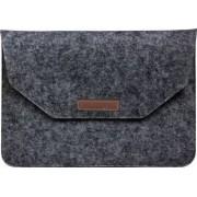 Husa plic Krasscom universala pentru Macbook Tablete 15 inch negru