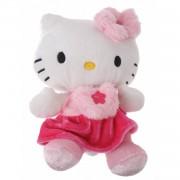 Jemini hello kitty knuffel bean bag meisjes roze 15cm