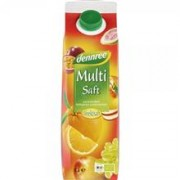 Suc Multifruct Ecologic Dennree 1L