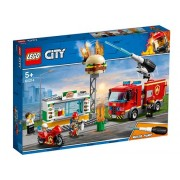 Stingerea incendiului de la Burger Bar - LEGO City