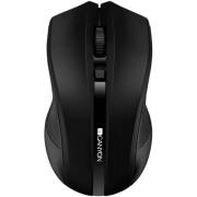 Безжична оптична мишка Canyon CNE-CMSW05B, черен