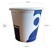 Lavazza pahare carton 4oz 100 ml set 100 buc
