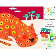Pictura cu degetele Animale