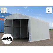 4x8x3,35m Wikinger raktársátor/ 550g/m2 PVC ponyva (Wikinger)