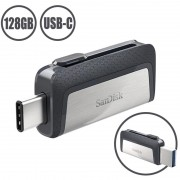 SanDisk Ultra Dual Drive USB Type-C Flash Drive SDDDC2-128G-G46 - 128GB