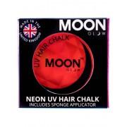 Vegaoo Röd UV-färgkräm för hårfläta från Moonglow© 3,5 g One-size