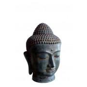 Bronzen Buddha Hoofd Dierenurn (1.9 liter)