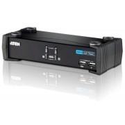 Switch KVM USB DVI a 2 Porte con Audio e Hub USB, CS1762A