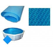 Blue 180 szolártakaró 549cm-es kör alakú medencéhez 180 mikron AS-172005