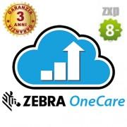 3 anni contratto di assistenza ZXP Serie 8 - ZEBRA OneCare -Z1AE-ZX8X-3C0