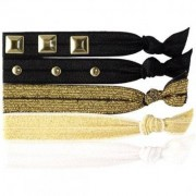 Knotties Hair Tie, Embellished Gold Hårsnoddar