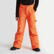 Kids Spur On Ski Pants Vibrant Orange